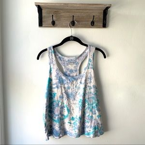 3/$20 Victoria's Secret Tie Dye Racerback Tank Top